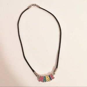 4/$15 - MARIE Name Necklace